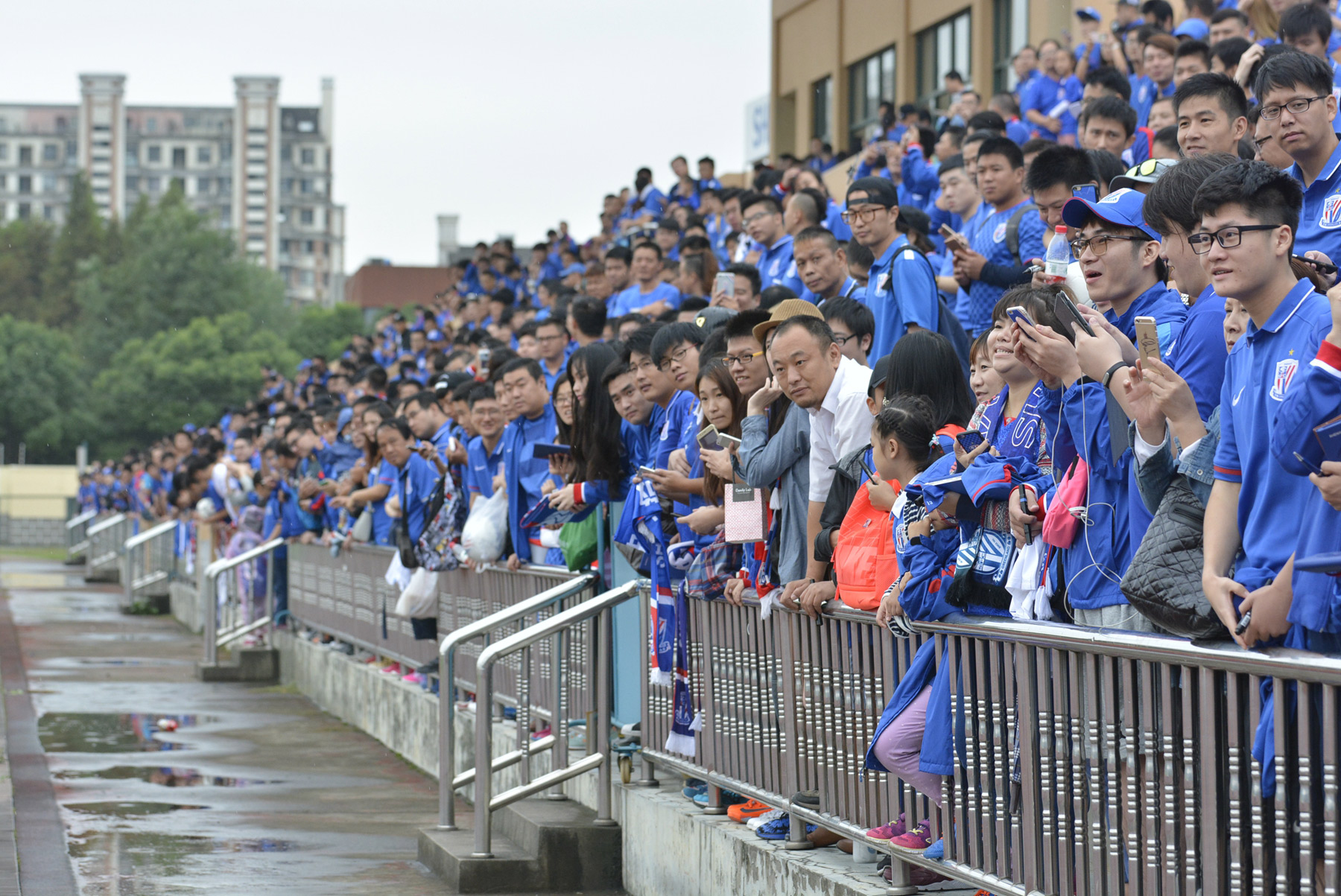Shanghai Greenland Shenhua, Kangqiao Football Training Complex